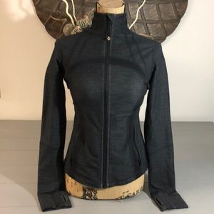 Lululemon athletics blackish  grey jacket size 6